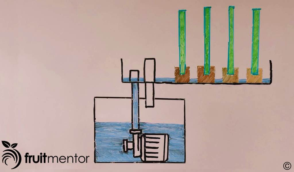 ebb and flow system diagram