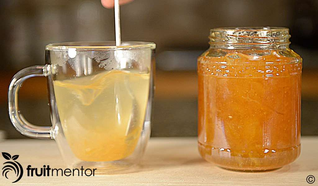 """A commercial """"Korean Honey Citron Tea""""."""