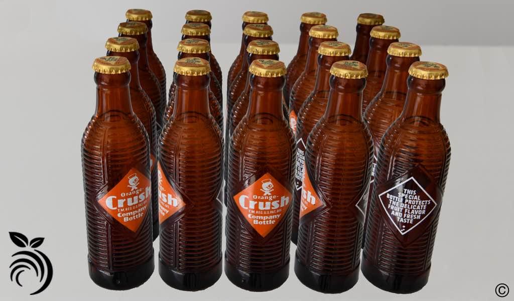Orange Crush Brown Bottles